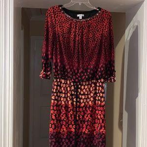 Ladies London Times dress..8..draped..NWT
